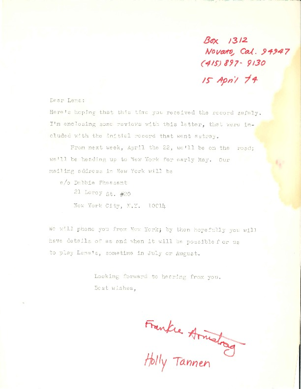 http://history.caffelena.org/transfer/Performer_File_Scans/armstrong_frankie/Armstrong__Frankie___letter___to_Lena_from_Holly_Tannen_and_Armstrong_4.15.74.pdf