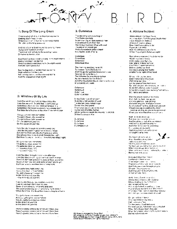 http://history.caffelena.org/transfer/Performer_File_Scans/bird_tony/Bird__Tony___song_list___lyrics.pdf