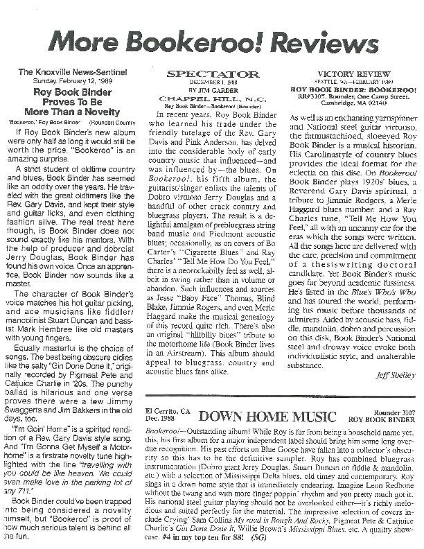 http://history.caffelena.org/transfer/Performer_File_Scans/book_binder_roy/Bookbinder__Roy___reviews___Rounder___12.1988.pdf