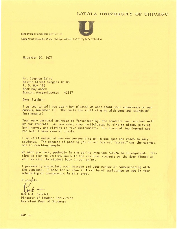 http://history.caffelena.org/transfer/Performer_File_Scans/baird_stephen/Baird__Stephen___Letter_to_Stephen_from_Keith_A._Patrick___Loyola_University_1976.pdf