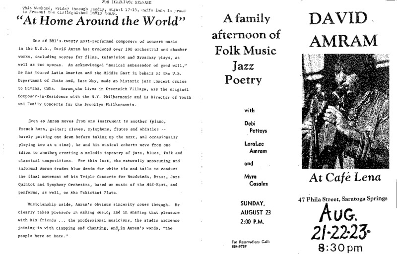 http://history.caffelena.org/transfer/Performer_File_Scans/amram_david/Amram__David___Caffe_Lena_ad_Aug._21.22.23_with_article.pdf