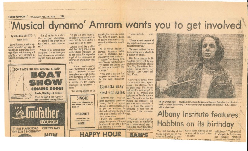 http://history.caffelena.org/transfer/Performer_File_Scans/amram_david/Amram__David____newspaper___Times_Union___2.25.76.pdf