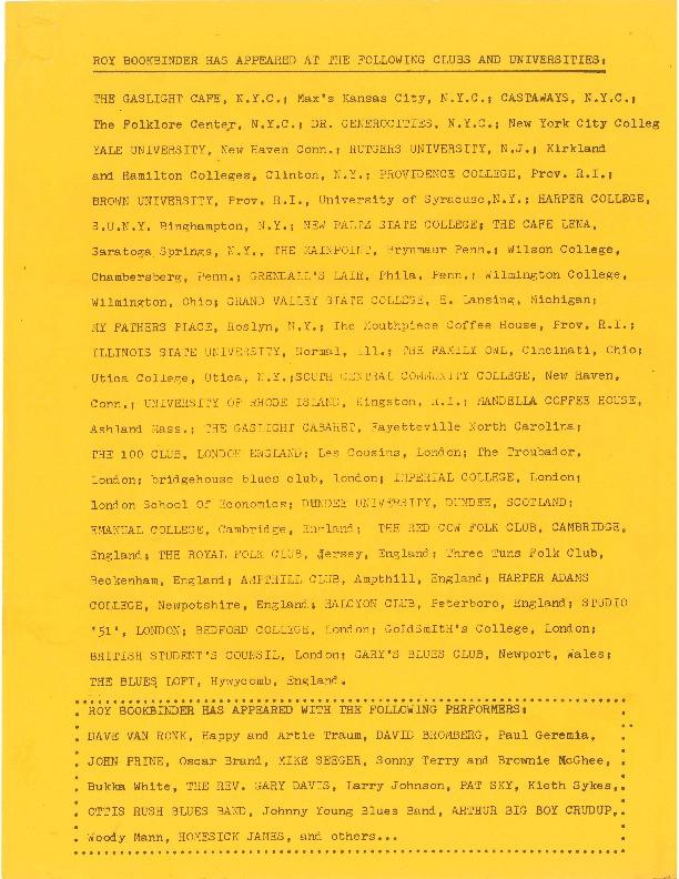 http://history.caffelena.org/transfer/Performer_File_Scans/book_binder_roy/Bookbinder__Roy___list_of_appearances__2_.pdf