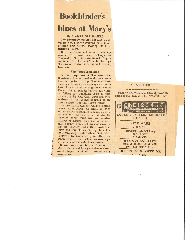 http://history.caffelena.org/transfer/Performer_File_Scans/book_binder_roy/Bookbinder__Roy___newspaper_announcement___at_Reactionary_Mary_s___date_unknown.pdf
