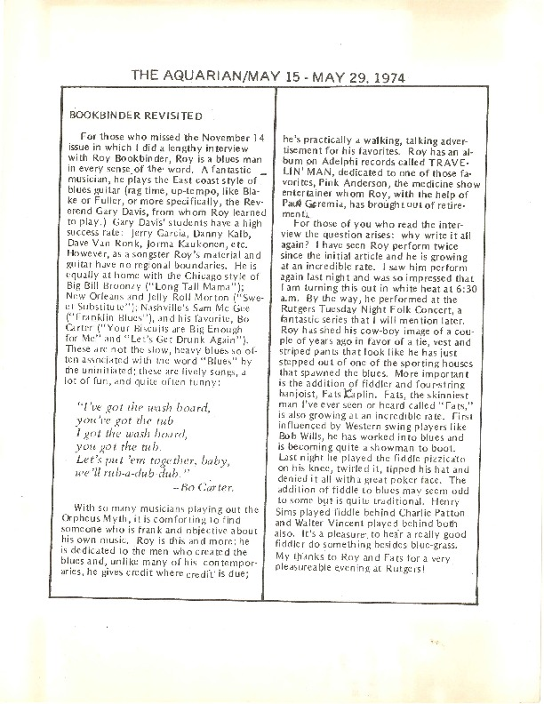 http://history.caffelena.org/transfer/Performer_File_Scans/book_binder_roy/Bookbinder__Roy___article___The_Aquarian___5.1974.pdf