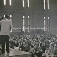 [Photo] The Weavers  Skidmore College  Skidmore  Ronnie Gilbert  Lee Hays  Fred Hellerman