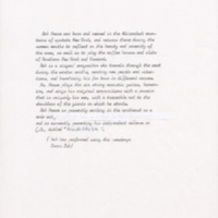 [Ephemera] Biography