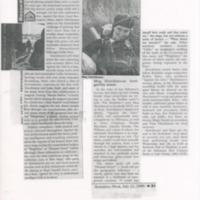 [Ephemera] Meg Hutchinson-Press Kit-Paper with cut out articles