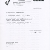 [Ephemera] Arthur Godfrey Packet-Letter/ radio feedback