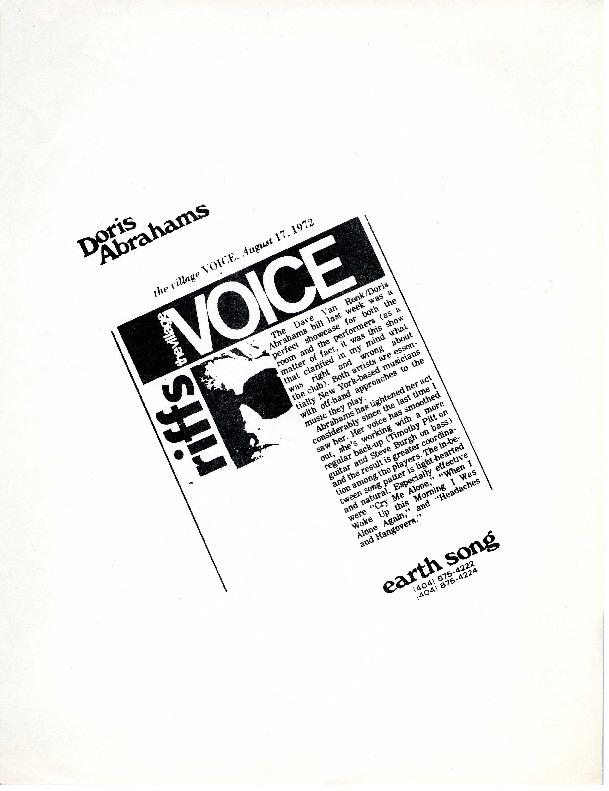 http://history.caffelena.org/transfer/Performer_File_Scans/abrahams_doris/Abrahams__Doris__The_Village_Voice___August_17_19720051.pdf