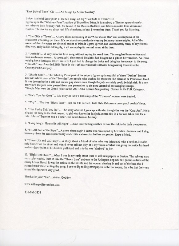 http://history.caffelena.org/transfer/live_lucy/East_Side_of_Town_song_descriptions.pdf