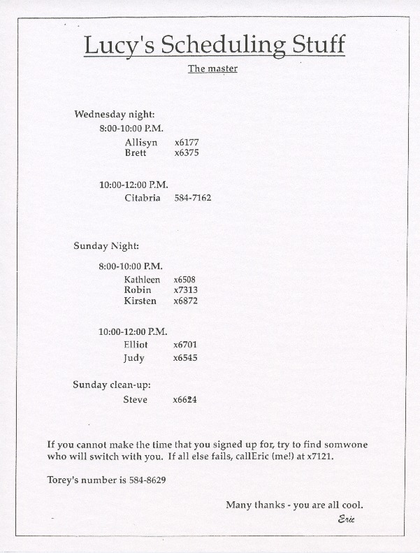 http://history.caffelena.org/transfer/live_lucy/Lively_Lucy_s_Scheduling_stuff.pdf