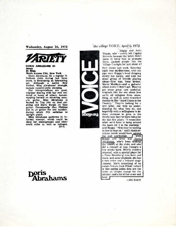 http://history.caffelena.org/transfer/Performer_File_Scans/abrahams_doris/Abrahams__Doris__The_Village_Voice___April_6_19720041.pdf