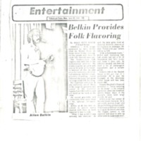 [Ephemera] Belkin Allen