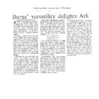 [Ephemera] Burns Martha