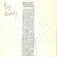 [Ephemera] Berkeley Roy