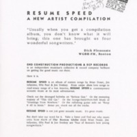 http://history.caffelena.org/transfer/live_lucy/Flyer_Resume_Speed_A_new_artist_compilation_end_construction_Productions.pdf