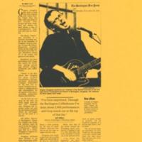 [Ephemera] Gregory Douglass-Press Kit-Article