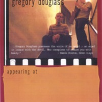 [Ephemera] Gregory Douglass-Press Kit-Poster
