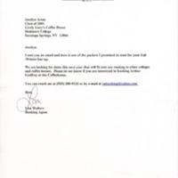 [Ephemera] Arthur Godfrey Packet-Letter