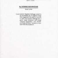 [Ephemera] Stephen Kellogg Press-Kit-Article
