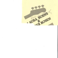 [Ephemera] Burns and Rosen