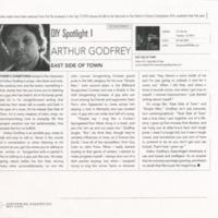 [Ephemera] Arthur Godfrey Packet-Article