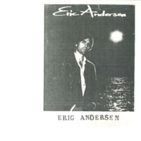 [Ephemera] Andersen Eric